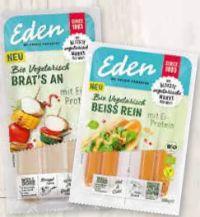 Vegetarische Spezialitäten von Eden