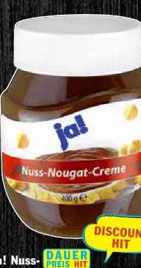 Nuss-Nougat Creme von ja!