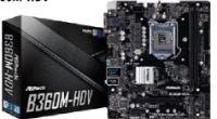 Motherboard B360M-HDV von Asrock