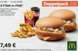 2 Filet-O-Fish 336 von McDonald's