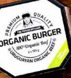 Organic Burger von The Frozen Butcher