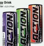 Energy-Drink von Action Energydrinks