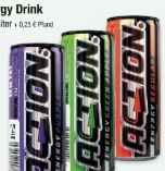 Energy-Drink von Action Energydrinks