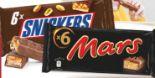 Schokoladenriegel von Mars