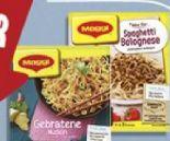 fix & frisch Gebratene Nudeln von Maggi