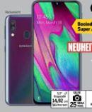 Smartphone Galaxy A40 von Samsung