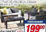 Luxus-Lounge-Set Merano von allibert