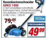 Rasenkantenschneider GRKS 1400 von Güde