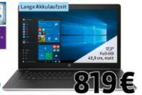 Notebook ProBook 470 G5 von Hewlett Packard (HP)