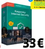 Sicherheits-Software Internet Security von Kaspersky