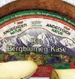 Bio Bergblumen-Käse von Andechser Natur