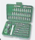 Sicherheits-Bitsatz 99-tlg. von Brüder Mannesmann Werkzeuge