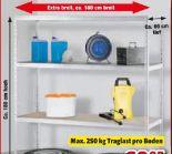 Schwerlast-Steckregal XXL von Go/On!