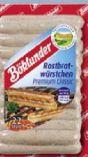 Rostbratwurst von Böklunder