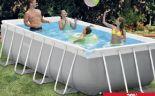Metal Frame Pool von Intex