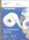 Klassisch Weiss Toilettenpapier von Hakle