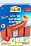 Frankfurter Rindswurst von G.A. Müller