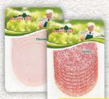 Frischwurst Aufschnitt von Bauern Gut