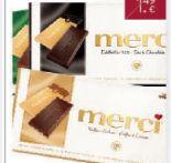 Merci Schokolade von Storck