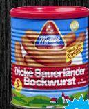Dicke Sauerländer Bockwurst von Metten