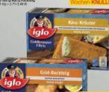 Goldknusper-Filets Gold-Backteig von Iglo