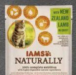 Naturally Katze Lamm von Iams