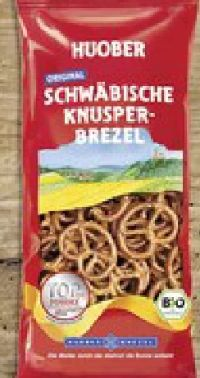 Original Schwäbische Bio Knusper-Brezel von Huober Brezel