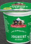 Naturjoghurt von Berchtesgadener Land