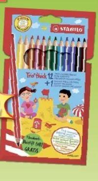 Trio thick Buntstifte von Stabilo