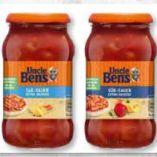 Saucen von Uncle Ben's