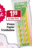 Trinkhalme von Vivess