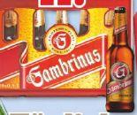 Premium Bier von Gambrinus
