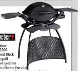 Gasgrill Q 2200 Stand von Weber
