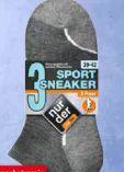 Herren-Sneaker-Socken Sport 3er-Pack von nur der