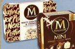 Magnum White Chocolate & Cookies Ice Cream von Langnese