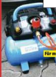 Kompressor Airpower 190/08/6 von Güde