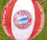 Strandball von FC Bayern