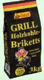 Grill Holzkohle-Briketts von Favorit