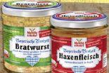 Bayerische Brotzeit von Mehlig & Heller