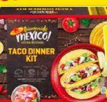 Taco Dinner Kit von Bienvenido Mexiko