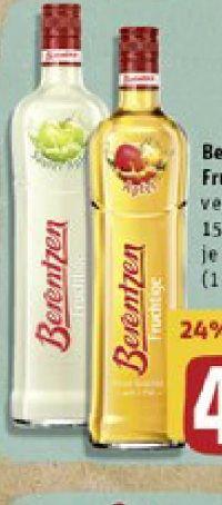 Fruchtliköre von Berentzen