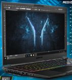 High-End-Gaming Notebook Erazer X17803 von Medion