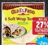 Soft Wrap Tortillas von Old El Paso