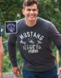 Herren Sweatshirt von Mustang