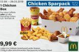 1 Chicken Box 122 von McDonald's