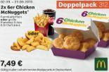 2x 6er Chicken McNuggets 312 von McDonald's
