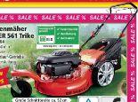 Benzin-Rasenmäher Big Wheeler 561 Trike von Powertec Garden
