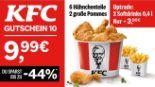 6 Hähnchenteile + 2 große Pommes 10 von KFC