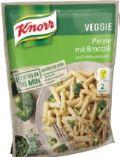 Trockenfertiggerichte von Knorr