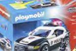 City Action Police Car 5673 von Playmobil
